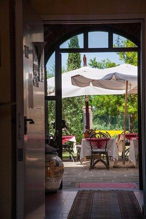 Ginestra Fiorentina, Italy: Ristorante esterno