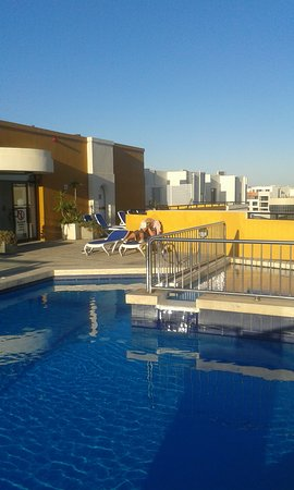 Sunseeker Holiday Complex: Roof pool