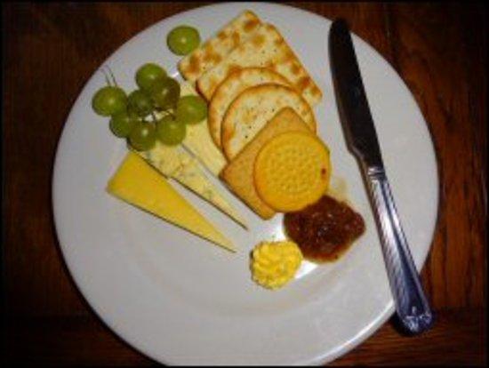 Bishopstone, UK: Cheese & Biscuits