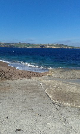 Bugibba, Malta: Nice little beach