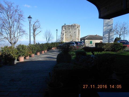 Smerillo, إيطاليا: il parcheggio