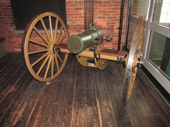 American Civil War Center at Historic Tredegar: Volley Gun on Display in the Pattern Building