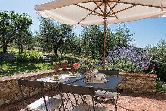 Montespertoli, Italia: Private terrace