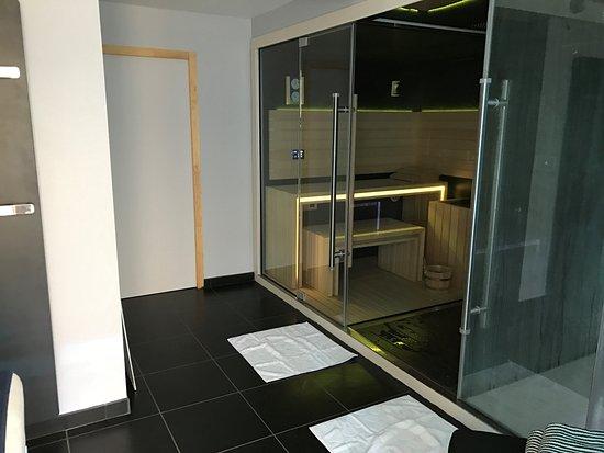 Hotel Le Bout du Monde : Spa - sauna et hammam