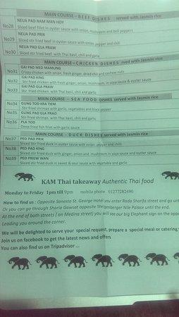 Kam Thai Takeaway