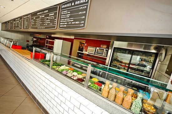 Michael's Chicago Style Red Hots: Our salad bar features over 60 ingredients to choose from!