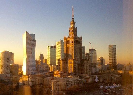 Mercure Warszawa Grand: veduta dalla camera (8° piano)