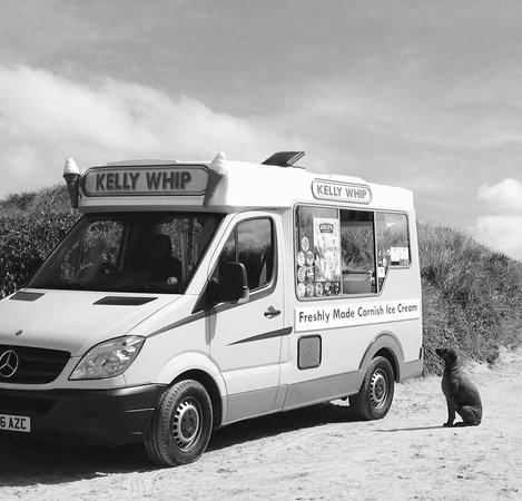 Constantine Bay, UK: Coastal coffee