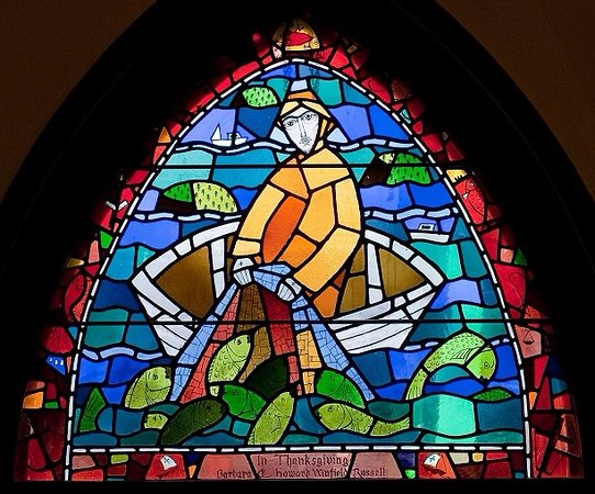 St. Saviour's Church : : Christ the Fisher of Men