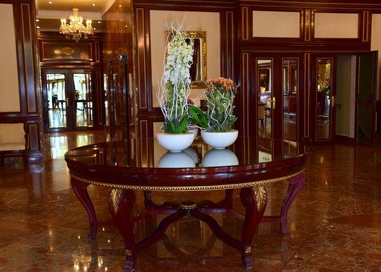 Hotel Alameda Palace: Hotel Amameda Palace lobby, Salamanca