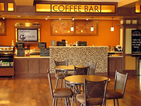 Jackson Rancheria Casino Resort: Coffee Bar at the Hotel