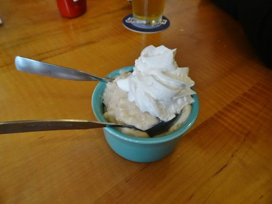 Center Ossipee, NH: Tapioca pudding