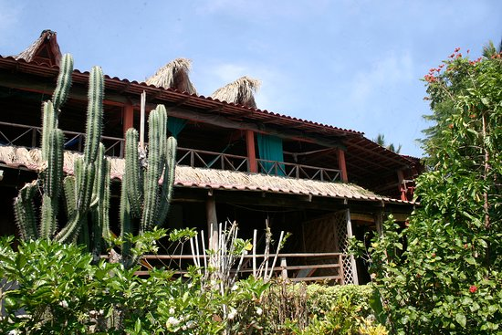 Villa Escondida: jardin