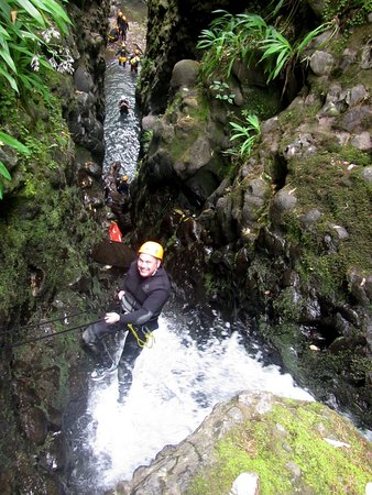 """AWOL Canyoning Adventures: Descending into the """"Washing Macinerne"""""""