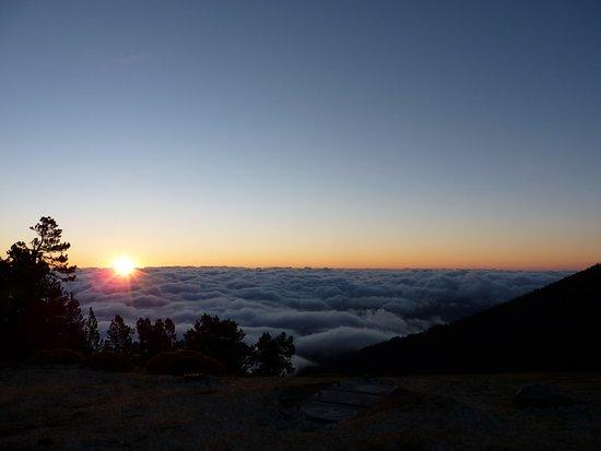 Taurinya, France: mer de nuage au matin