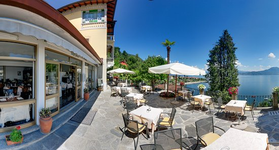 Terrazza sul lago - Bild von Hotel La Rondinella, Cannero Riviera ...