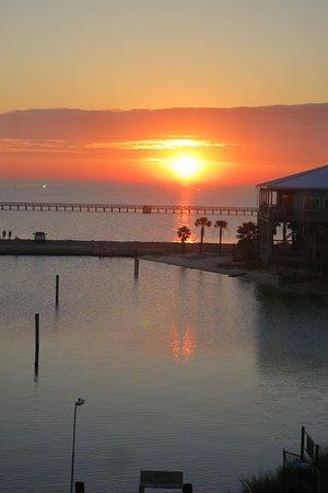 Long Beach, MS: Sunset view