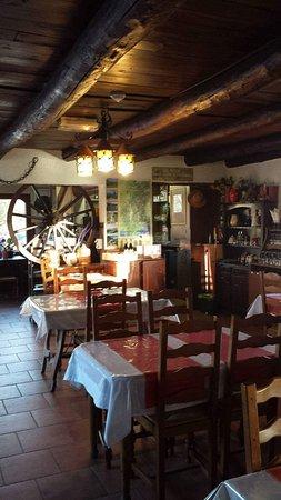 La Bollene Vesubie, França: salle restaurant du Ranch