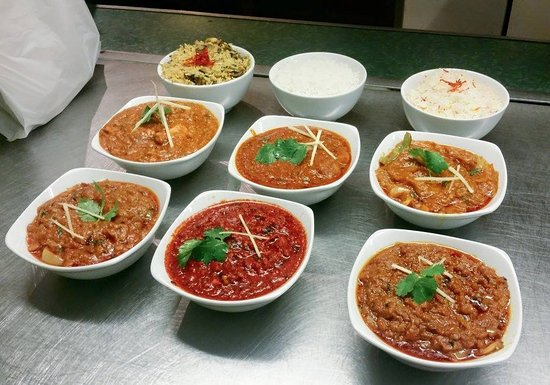 Cinderford, UK: A selection of our delicious curries