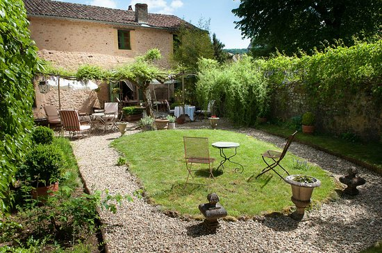 Cadouin, France: Le jardin