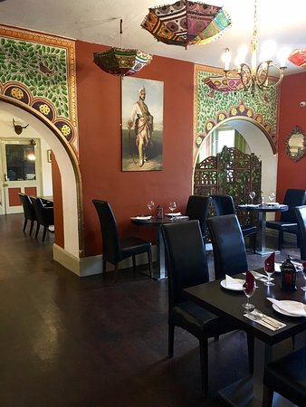 "Littledean, UK: Try our wonderful Indian restaurant ""Odisha"" when staying with us"