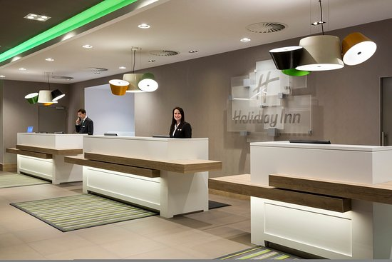 Holiday Inn Munich - City Centre: Hotel Reception