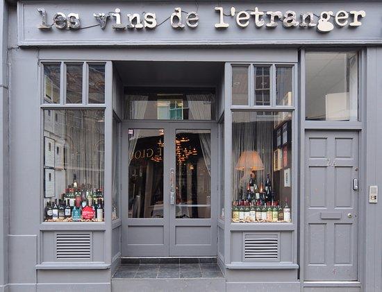 L'Etranger: Wine shop