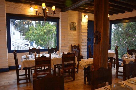Hacienda Pinsaqui: Dining area