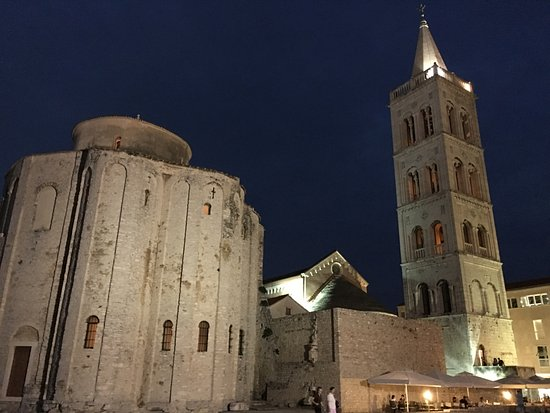 Zadar Cathedral: Next to the church of St. Donat