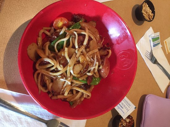 Genghis Grill The Mongolian Stir Fry: Build Your Own Bowl