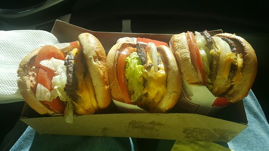 In N Out Burger Yuma Az : Double double times 3
