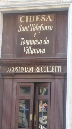 Chiesa dei Santi Ildefonso e Tommaso da Villanova