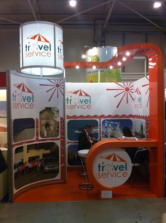 TravelService is DMC company with 12 years on the market and participating in major fairs