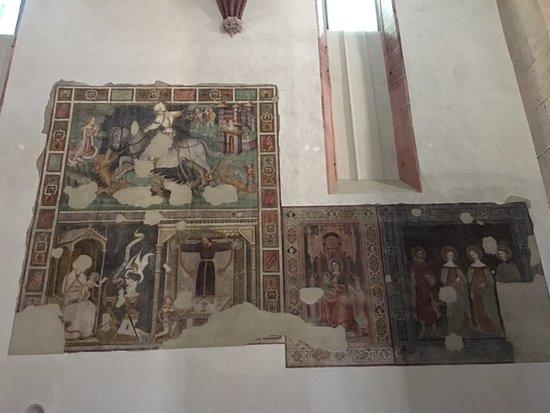 Cappella Domenicani: affresco Castelnuovo