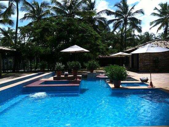 Hotel Transamerica Ilha de Comandatuba: Piscina do Spa