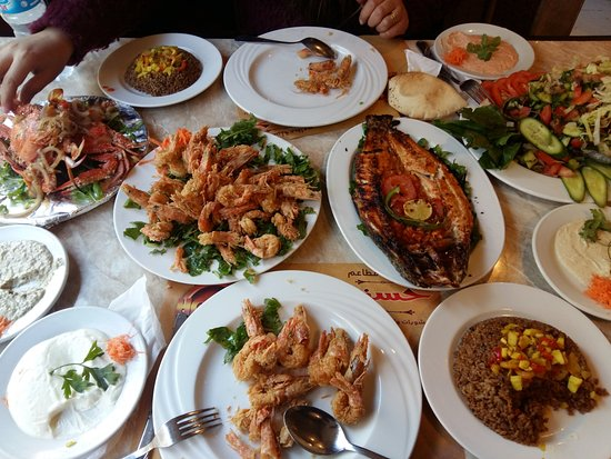 Hosny for b b q seafood alexandria restaurant reviews for Alexandria mediterranean cuisine