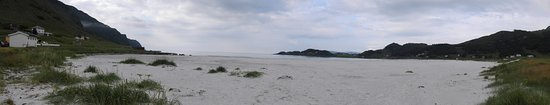 Vagsoy Municipality, Noruega: Beautiful white beach