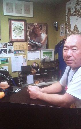 Bar Hayama : Owner Toshi is fun!!
