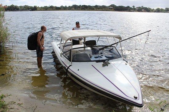 Walkin on Water: Mike's Sanger Barefooter at Lake Ida