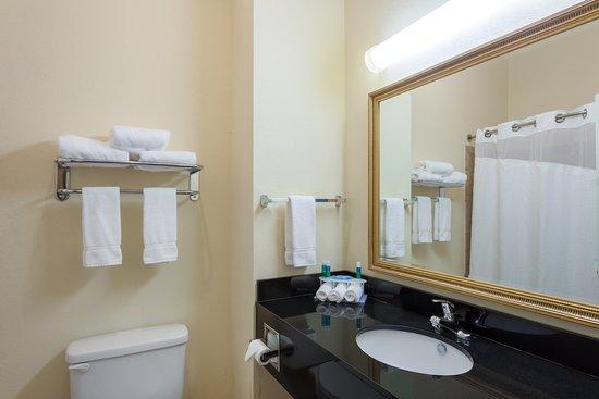 Clarksville, AR: Guest Bathroom