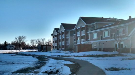 Fort Pierre, SD: Back of the hotel