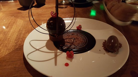 Menlo Park, CA: The chocolate sphere