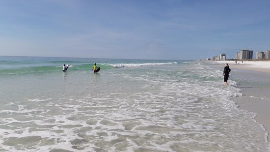 Henderson Beach State Park Campground: crystal clear water and miles of white sand beach