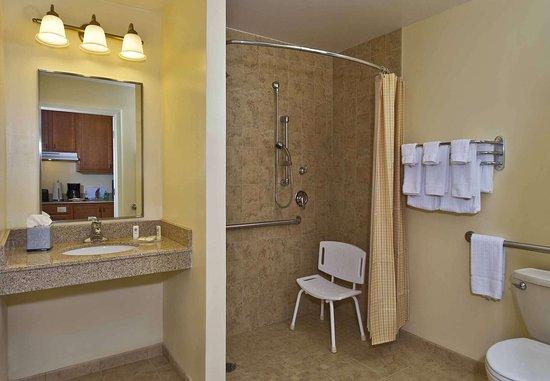Clinton, MD: Accessible Suite Bathroom