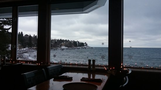 Tofte, MN: Breakfast with a beautiful view!