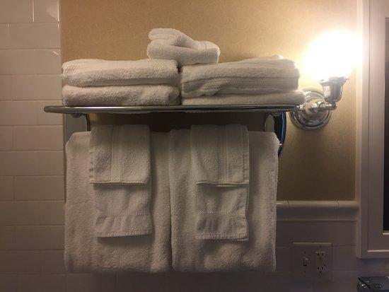 Marion, Вирджиния: Plenty of towels.