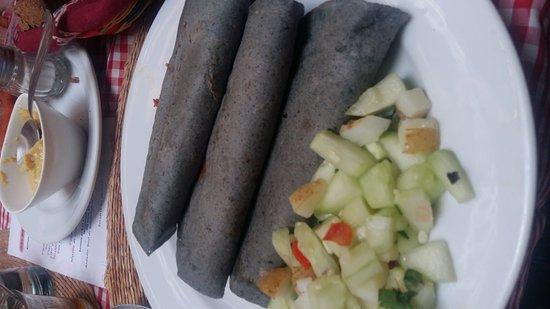 La Casa del Pan : Comida vegetariana