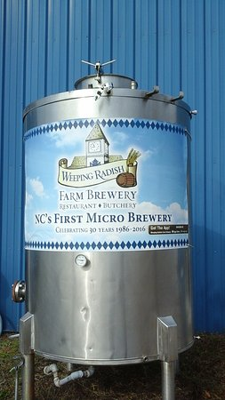 Weeping Radish : NC Farm Brewery