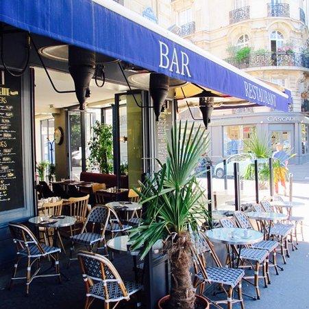 La Seine Cafe: Notre terrasse