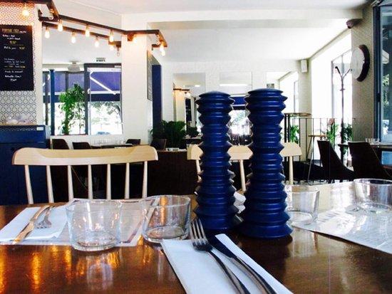 La Seine Cafe: Notre décoration